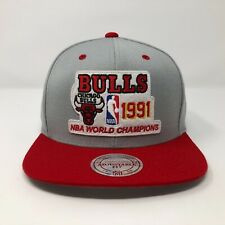 Chicago Bulls Mitchell And Ness Snapback Hat A5