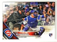 2016 Topps Update #US138 KYLE SCHWARBER RC Rookie Chicago Cubs QTY AVAILABLE