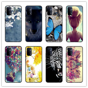 For OPPO A54 5G Case, Slim Matte Black Soft Silicone Gel TPU Phone Cover