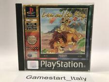 LION AND THE KING - SONY PS1 - GIOCO USATO PERFETTAMENTE FUNZIONANTE PAL PSX