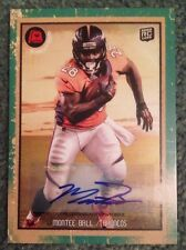 2013 Topps Turkey Red Montee Ball Green Autograph Denver Broncos 6/10