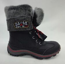 Pajar Womens Alice Boots F15/44438 Black Size 7-7.5 US/38-EU