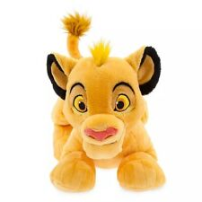 "NWT Disney Store Simba The Lion King Medium Plush New 17"" L"