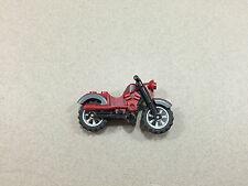 Lego Mini Figure Harley Davidson Motorcycle Red w/ Grey Indiana Jones Lot