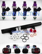 fit Nissan 180sx 240sx s13 SR20 SR20DET bosch ev14 650cc Fuel Injectors rail