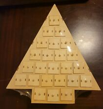 Art Minds Christmas DIY Wood Decor 24 Days Advent Calendar Tree Home Project