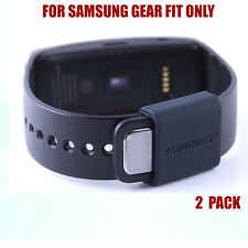 BANDCUFFS™ security loops for Samsung Gear Fit - SIMPLY BLACK (2 Pack)