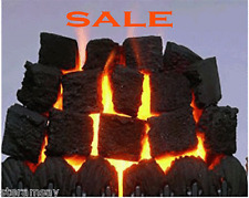 30 High Thermal Resistant Large Ceramic Coals For Gas Fire Coal Replacement RCF