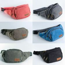 Canvas Bum Bags/Waist Packs Soft Bags & Briefcases for Men