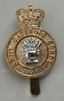 British Army, Army Catering Corps Cap Badge. J.R.GAUNT B'HAM. A/A.