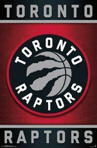 TORONTO RAPTORS - LOGO POSTER - 22x34 NBA BASKETBALL 14577