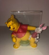 The Disney Store Winnie The Pooh Bear Piglet Figure Heavy Picture Frame Stand