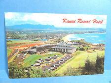 Vintage Kauai Resort Kauai Hawaii Postcard
