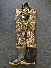 New Cabela's Men's Premium Breathable Dry Plus Wader MAX-4 Camo Size 11 600g