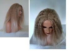 Skin Centre Part Silky Soft Long Volume-Afro/Fizz Dark Brown or Sandy Blonde wig