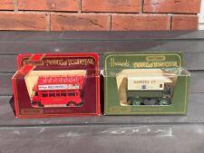 Matchbox Models Of Yesteryear Y29 1919 Walker Electric Van & Y23 1922 AEC Bus