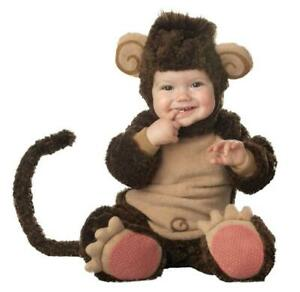 ADORABLE LIL MONKEY CHIMP DELUXE COSTUME DRESS IC6005 NEW