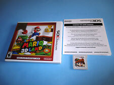 Super Mario 3D Land (Nintendo 3DS) XL 2DS Game w/Case & Insert