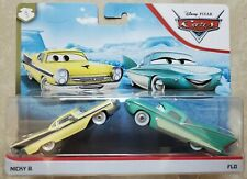 DISNEY PIXAR CARS * NICKY B & FLO * RADIATOR SPRINGS 2 PACK - NEW IN HAND
