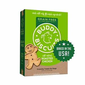 Buddy Biscuits, Grain Free Oven Baked Crunchy & Teeny Treats for Small or Toy...