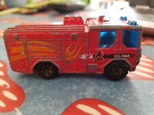 Matchbox Dennis Sabre Fire Engine Red Flame body