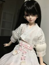 1/4 bjd Msd Rl rosenlied aholiday doll clothes outfit skirt white