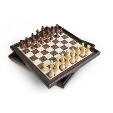 Craftsman Natural Wood Veneer Deluxe Chess Set from Mr Toys
