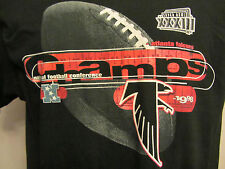 NFL Atlanta Falcons 1998 NFC Champs Black T Shirt Mens Medium.........f