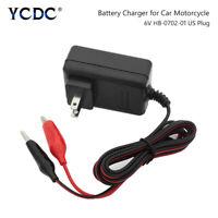 6V 6 Volt Sealed Lead Acid Rechargeable Battery Charger 5633695