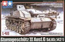 Tamiya 32525 1/48 Scale Model Tank Kit WWII German Sturmgeschütz StuG III Ausf.G