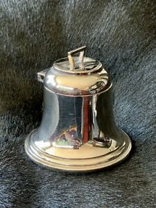 Antique George V Sterling Silver Inkwell
