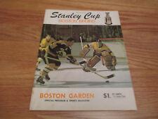 Boston Garden 1970 STANLEY CUP Program vs NEW YORK RANGERS BOBBY ORR w BRAD PARK