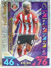 Match ATTAX 2016/17 Premier League - #441 Fabio Borini-Man of the match