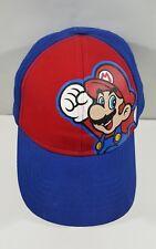 VINTAGE Youth Super Mario Ball Cap Hat