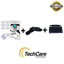 LIFETIME Warranty TechCare SE A-B Dual Tens Massager + Fat Burner Belt + Shoes