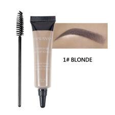 Tinte Para Cejas Tinte Gel Ojo Máscara Crema Con Cepillo de cejas kit Impermeable utilidad