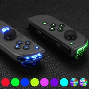 7 Colors 9 Modes Classical DFS LED Kit for Nintendo Switch JoyCon Controller