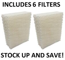 Humidifier Filter for Bionaire W6 W6S W-6 W7 W9 W9s - 6 Pack
