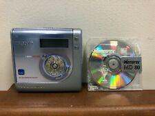 Vintage Sony Minidisc Walkman & Recorder MZ-NHF800