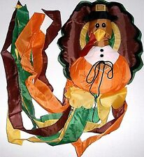 "THANKSGIVING TURKEY WINDSOCK   50"" Long   Nylon"