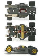 1pc 1982 Aurora AFX G+ G-PLUS Slot Car WIDE CHASSIS Bench Tested YELLOW Wheel Sh