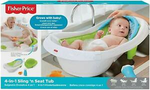 Fisher Price 4in1 Baby Bath Sling 'n Seat Tub