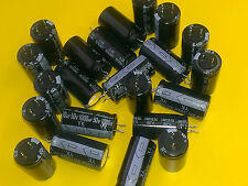 [25 pcs].Rubycon 1000uF/50V series YK radial electrolytic capacitors 12,5x25mm