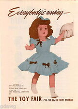 1951 ADVERT 2 PG Artisan Raving Beauty Walking Doll