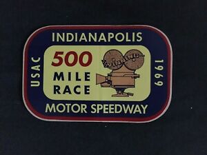 1969 United States Auto Club Indianapolis Motor Speedway 500 Mile Race Official