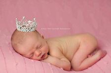 Bambino Viola Re Regina Lustrini Tiara, Baby Servizio Fotografico Compleanno