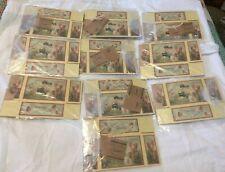 Valentine Day 10 Candy Boxes Annie Schickel Collection Cherub Heart Primitive