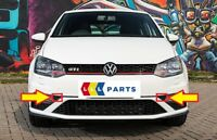 NEW GENUINE VW POLO GTI 15-17 FRONT BUMPER LOWER CORNER TRIMS SET LEFT+RIGHT
