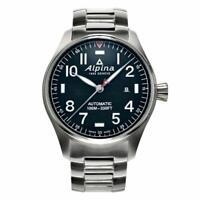 Alpina Men's Automatic Caliber Date Calendar Blue Dial 44mm Watch AL-525NN4S6B