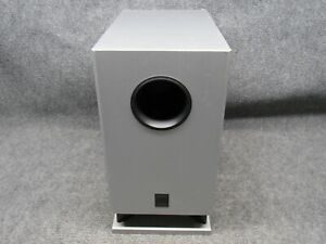 Onkyo Model SKW-8230 Silver 75W Powered Subwoofer *Working*